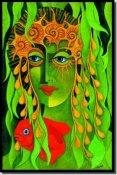Catalina Mermaid Gliclee Available