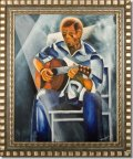 Blues-Guitarist-with-Stagelights -30x37