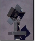CBox Metal Sculpture Available