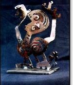 Calling Metal Sculpture Sold