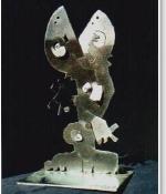 Divided Figure Metal Original Sold