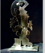 Sing Metal Sculpture Sold
