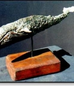 Whale Metal Sculpture Available