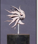 Halleys Comma Metal Sculpture Sold