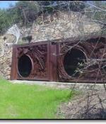 Iron Doors Sculptures - Available