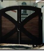 Iron Teak Gates - Sold