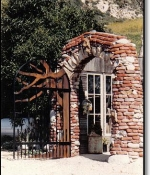 Malibu Gate Metal Sculpture Sold