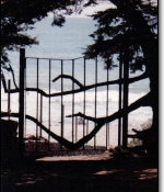 Monterey Gate Metal Sculpture Sold