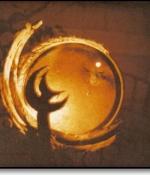 Moon Metal Sculpture Sold