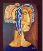Grecian Sister 1 Original Sold
