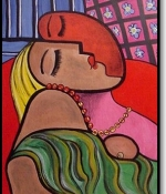Sleeping woman Original Sold